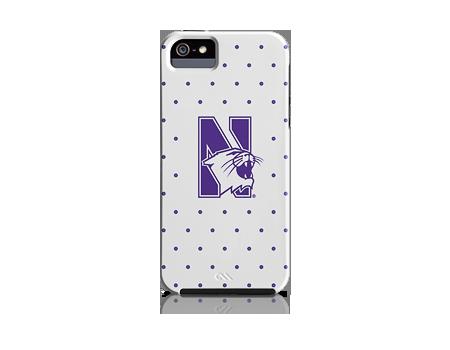 Case-Mate Northwestern Dots Case - iPhone 5