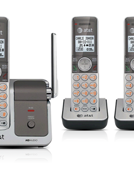 AT & T CL81301 3-Handset Cordless Phone