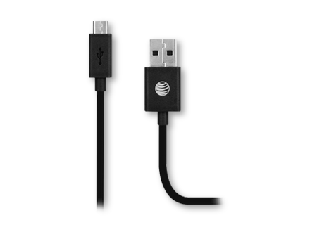 AT & T Cable 9 in. Charge and Sync Micro USB