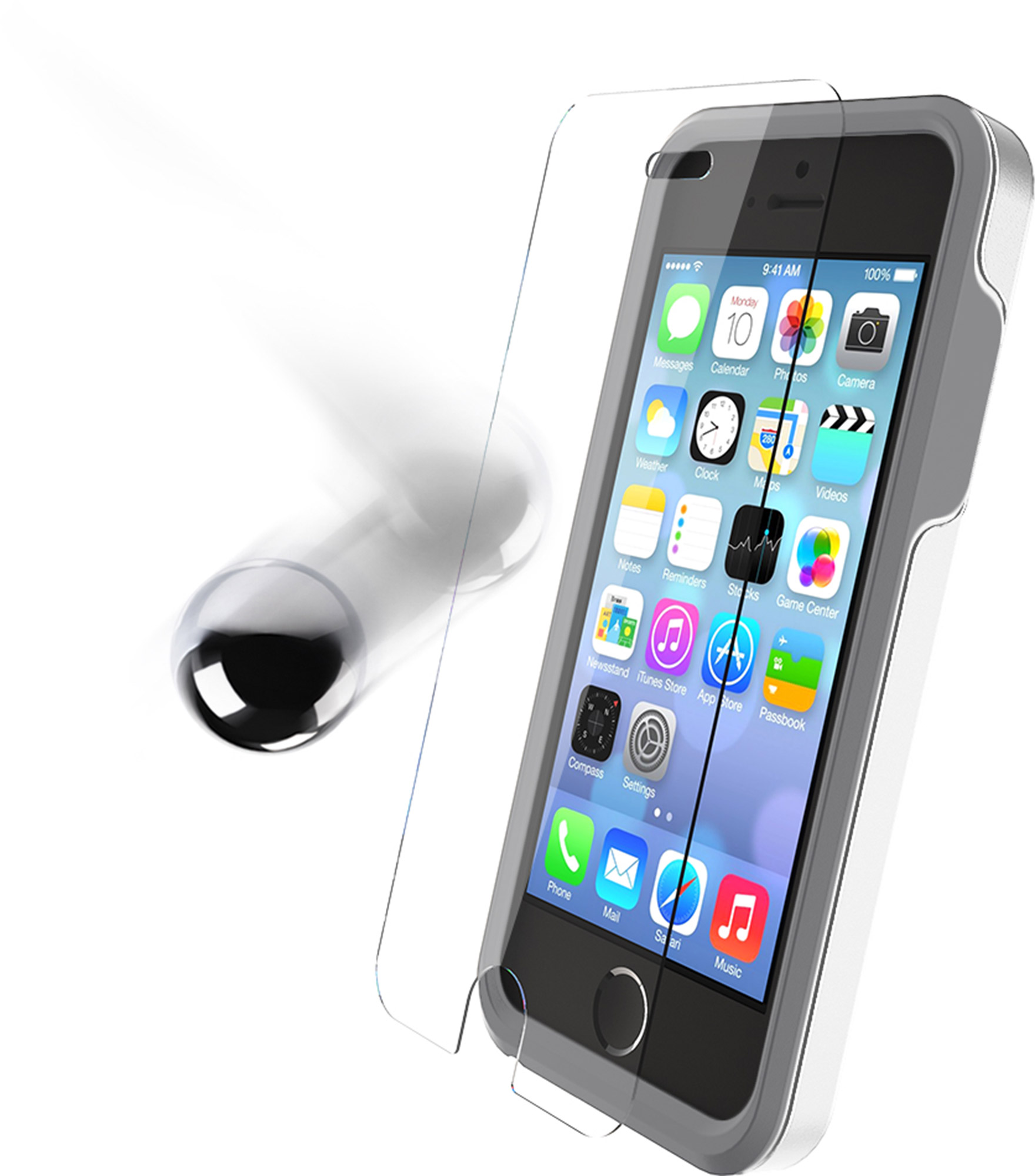 OtterBox Alpha Glass Screen Protector for iPhone 5/5s and iPhone 5c