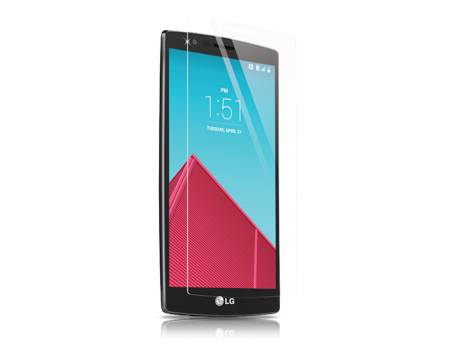 BodyGuardz Pure Tempered Glass Screen Protector - LG G4