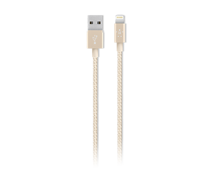 Belkin Premium Braided Lightning Charge/Sync Cable