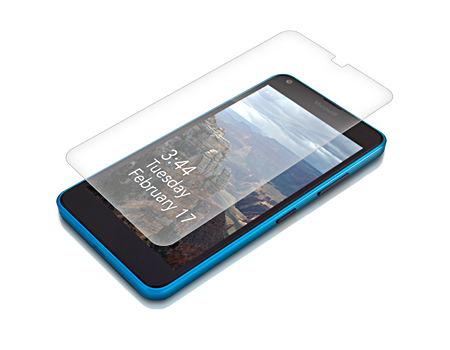 Zagg Invisible Shield HDX Dry Apply - Microsoft Lumia 640 XL