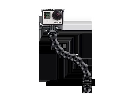 GoPro Gooseneck Mount - All GoPro Cameras