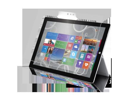 BodyGuardz ScreenGuardz HD Screen Protector Two-Pack - Microsoft Surface 3