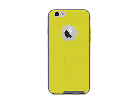 QuikCell FRAMED 2 Piece Gel/Shell Case- iPhone6/6s