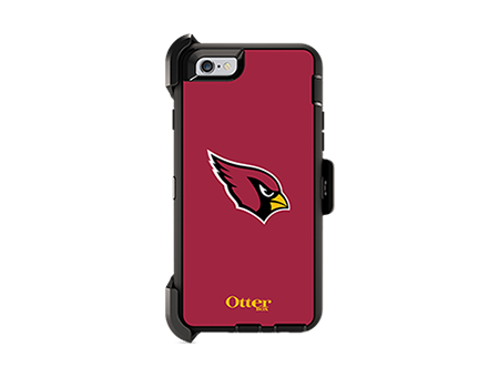 OtterBox Defender Series NFL Arizona Cardinals Case and Holster - iPhone 6/6s