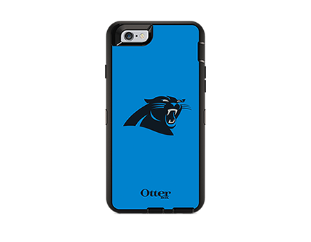 OtterBox Defender Series NFL Carolina Panthers Case and Holster - iPhone 6/6s