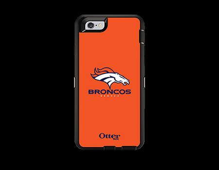 OtterBox Defender Series NFL Denver Broncos Case and Holster - iPhone 6/6s