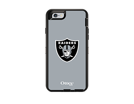OtterBox Defender Series NFL Oakland Raiders Case and Holster - iPhone 6/6s