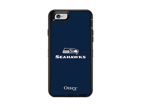 OtterBox Defender Series NFL Seattle Seahawks Case and Holster - iPhone 6/6s