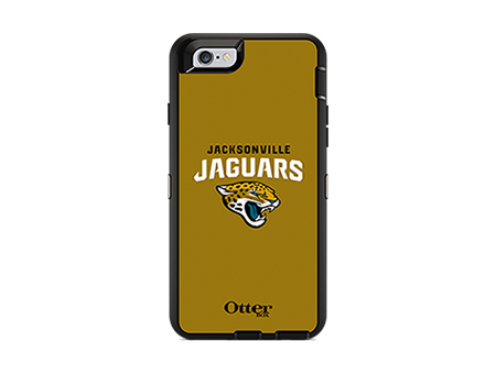 OtterBox Defender Series NFL Jacksonville Jaguars Case and Holster - iPhone 6/6s