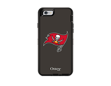 OtterBox Defender Series NFL Tampa Bay Buccaneers Case and Holster - iPhone 6/6s