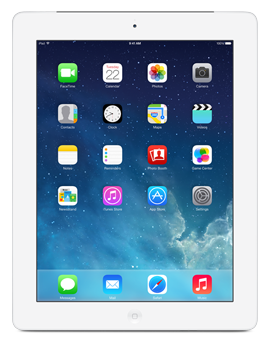 Apple iPad with Retina display Wi-Fi + Cellular 16GB - White