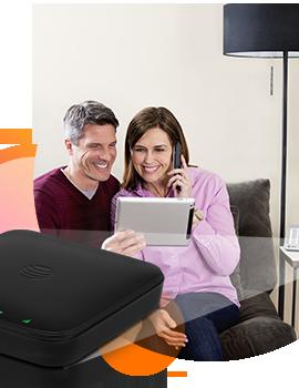 GoPhone Wireless Home Phone & Internet - Black