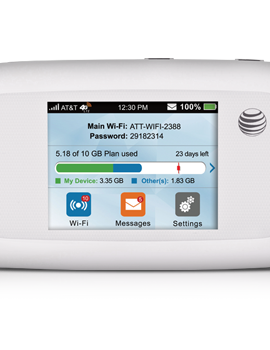 AT & T Velocity - White