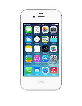 Apple iPhone 4s - 8GB - White - GoPhone - White