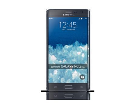 Samsung Galaxy Note Edge - Charcoal Black