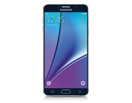 Samsung Galaxy Note5 - 32GB - Black Sapphire