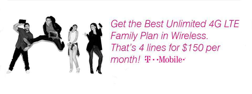 T-Mobile - Unlimited - Family Plan