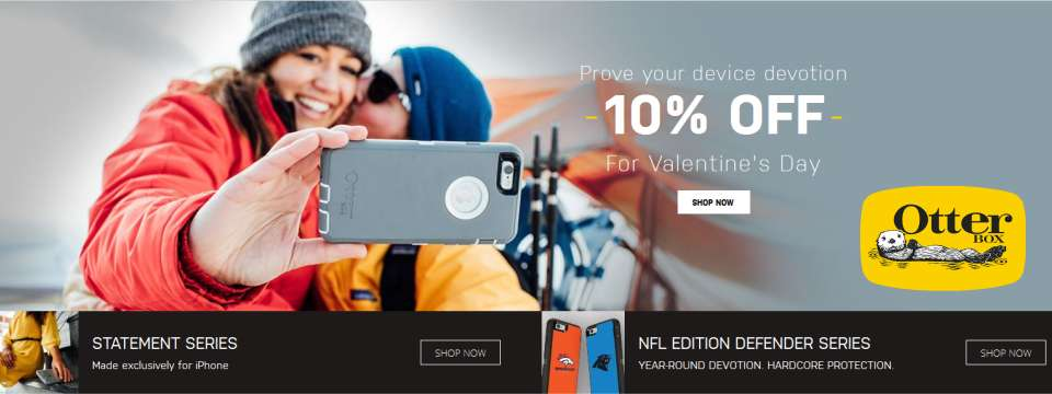 OtterBox - 10% Off DEAL - Valentine Day Coupon