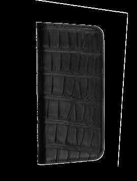 Alligator Wallet Folio - Black