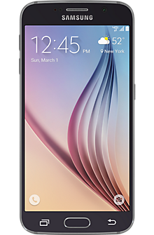 Samsung Galaxy S®6 32GB in Black Sapphire