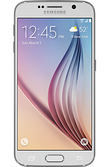 Samsung Galaxy S®6 64GB in White Pearl