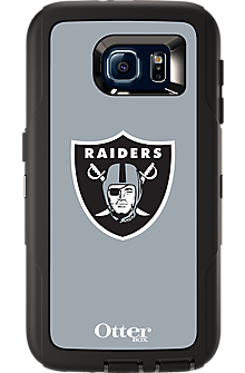 NFL Defender by OtterBox for  Samsung Galaxy S 6 - Oakland Raiders