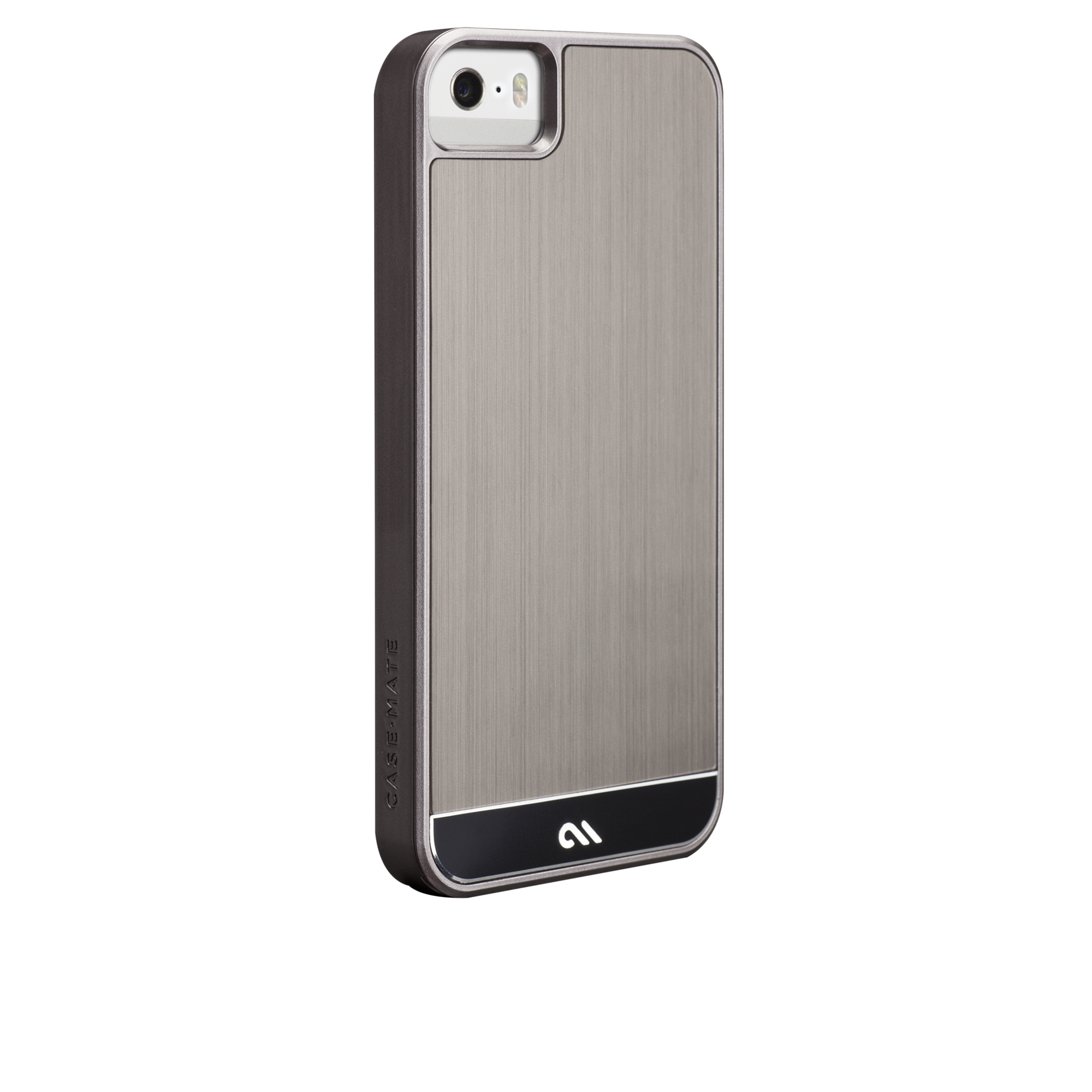 Brushed Aluminum Case - Gunmetal & Black