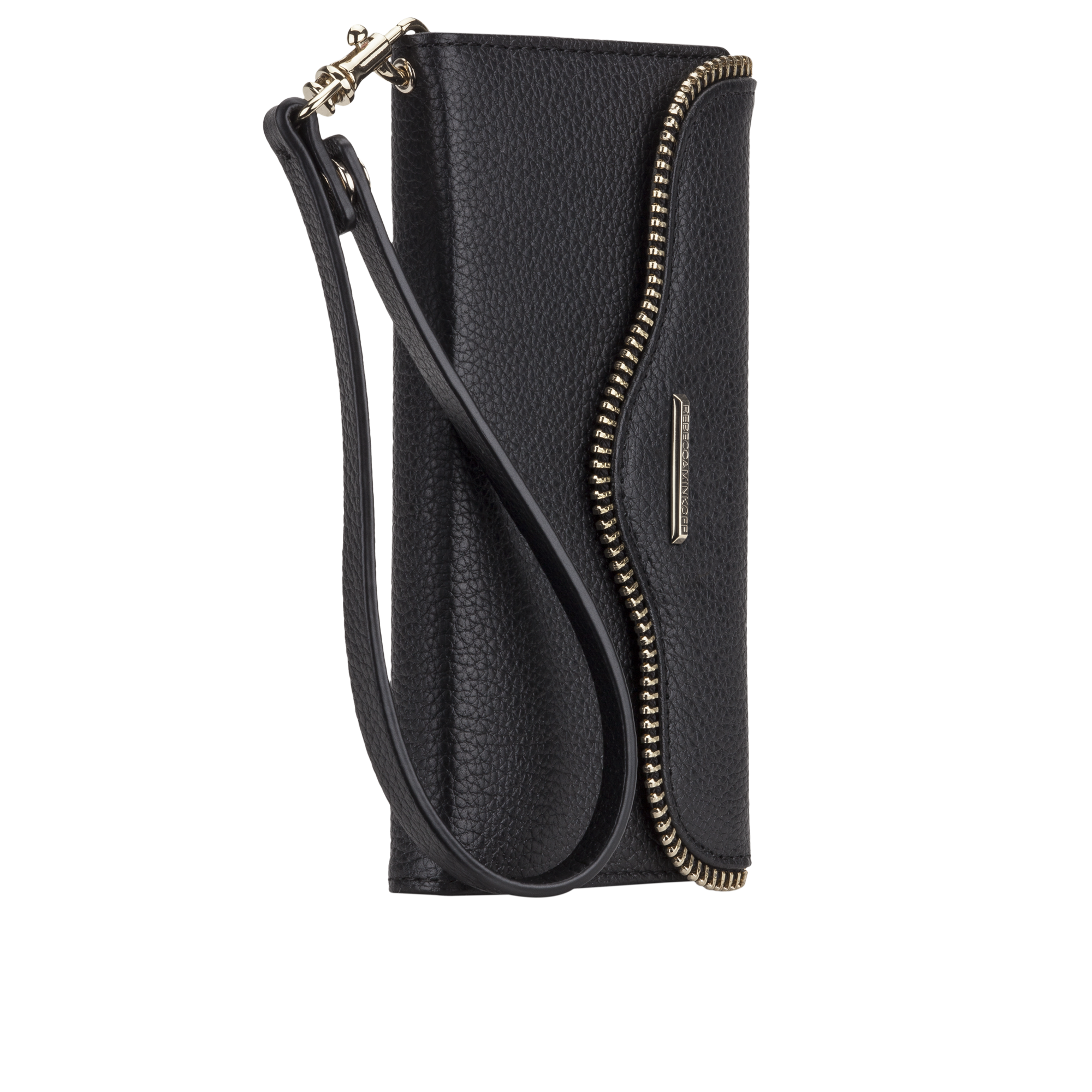 Rebecca Minkoff Leather Wristlet - Black