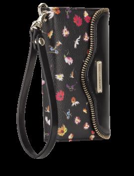 Rebecca Minkoff Leather Wristlet - Botanical