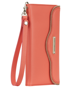 Rebecca Minkoff Leather Wristlet - Coral