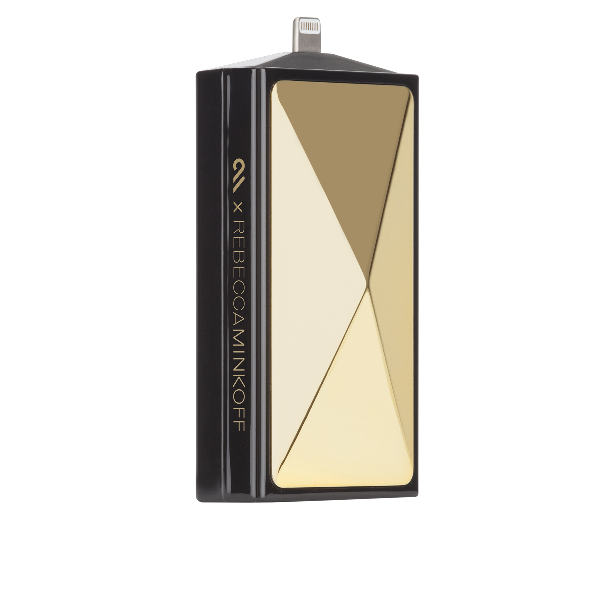 Rebecca Minkoff Mobile Charger - Gold Stud