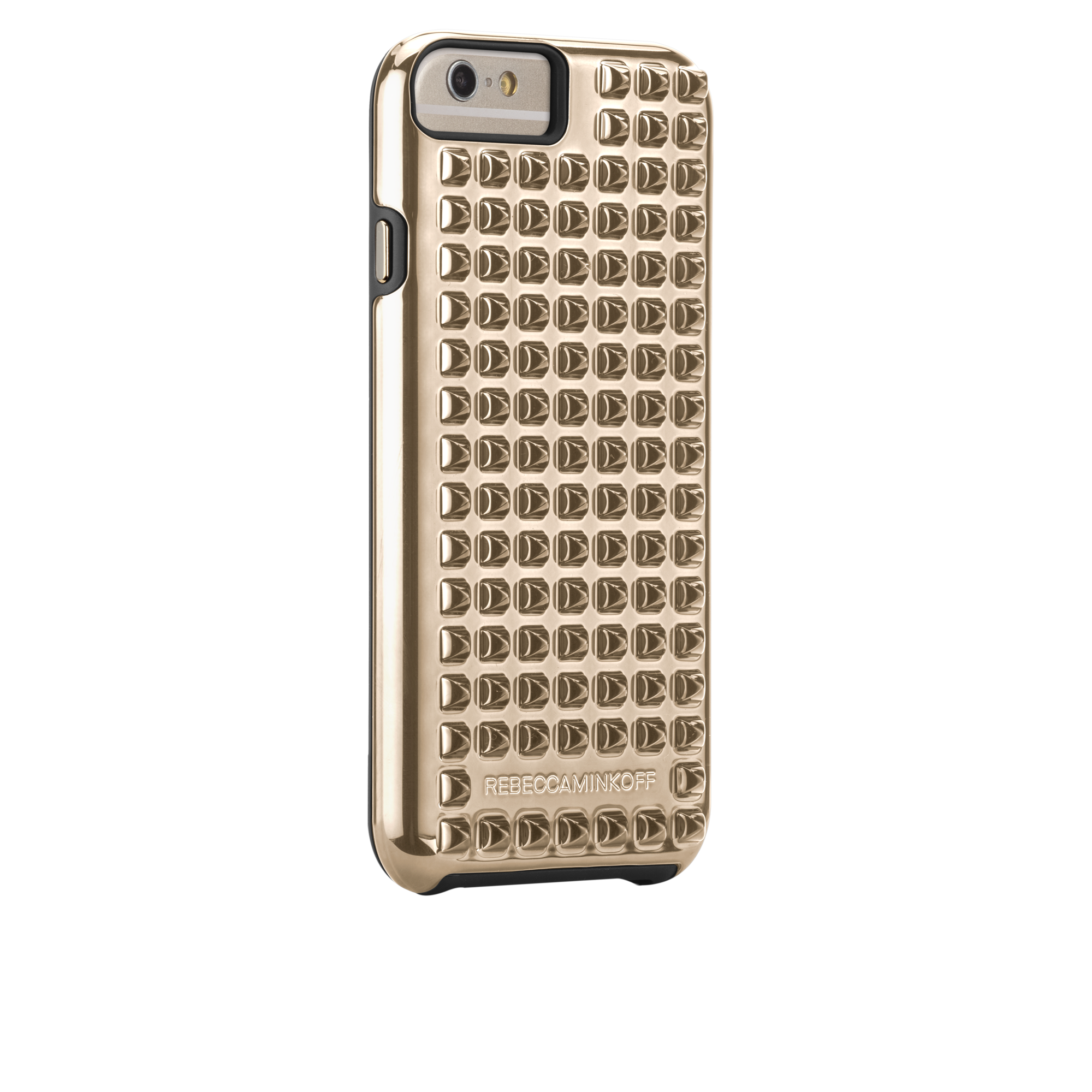 Rebecca Minkoff Studded Tough Case - Gold