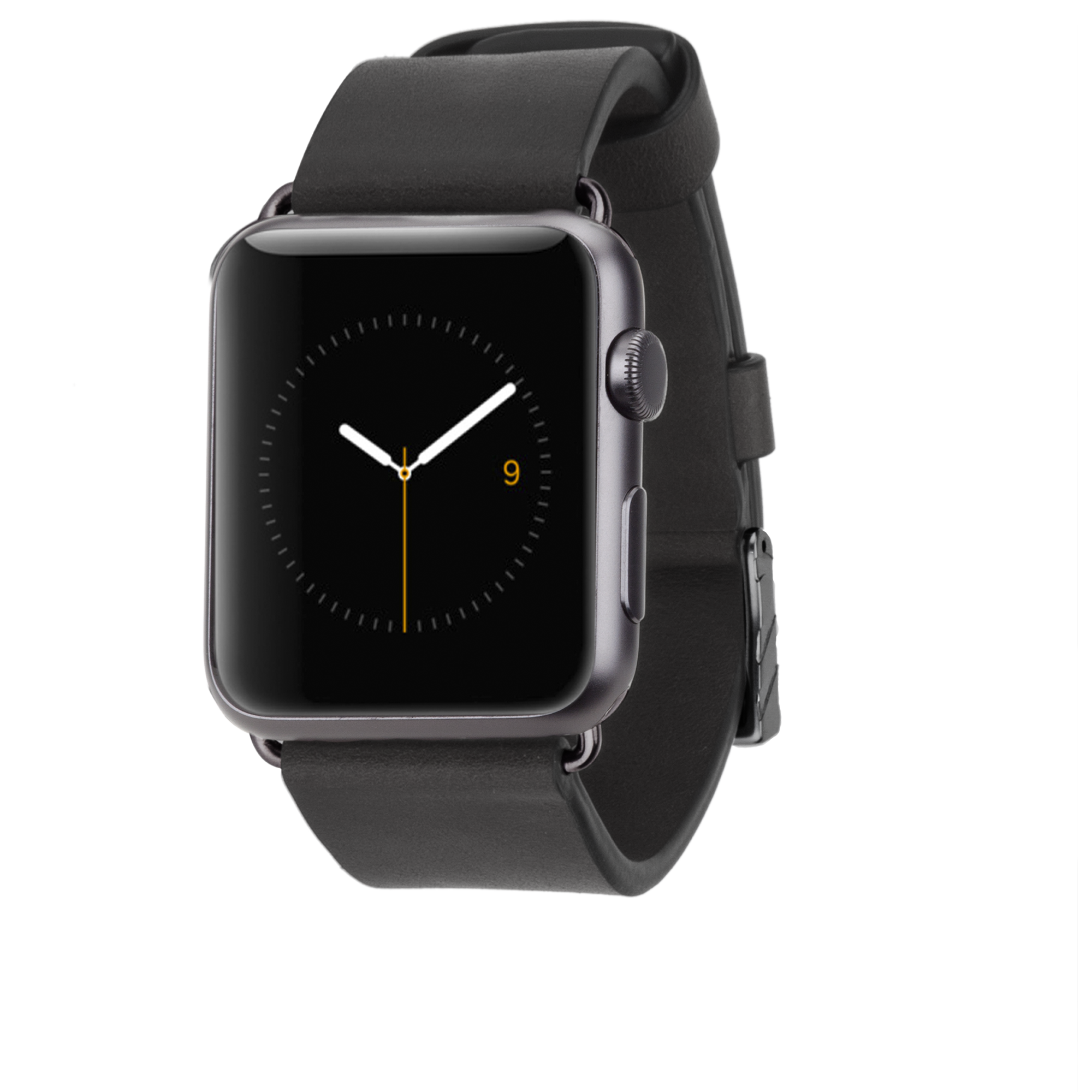 Signature Leather Band - Black