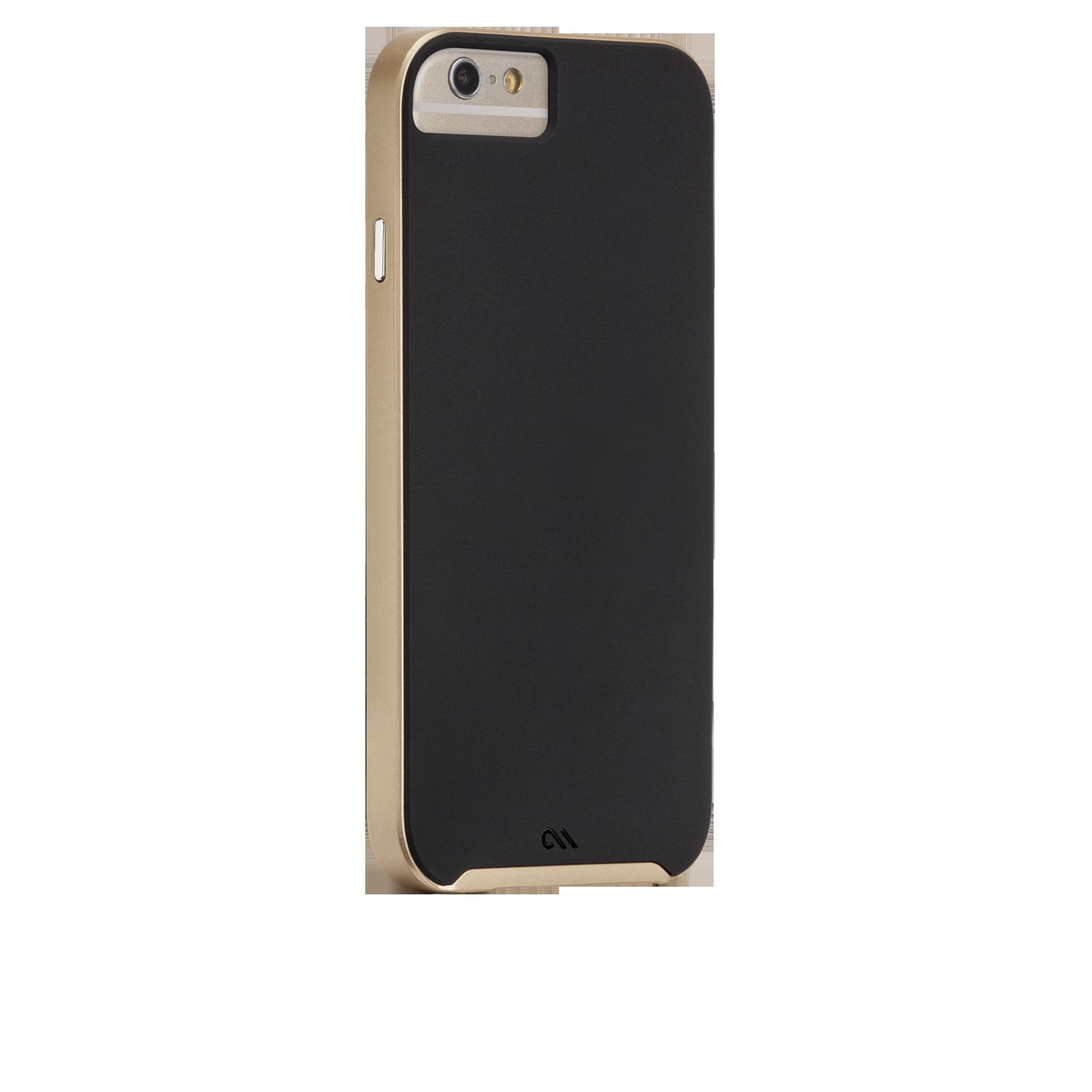 Slim Tough Case - Black & Gold
