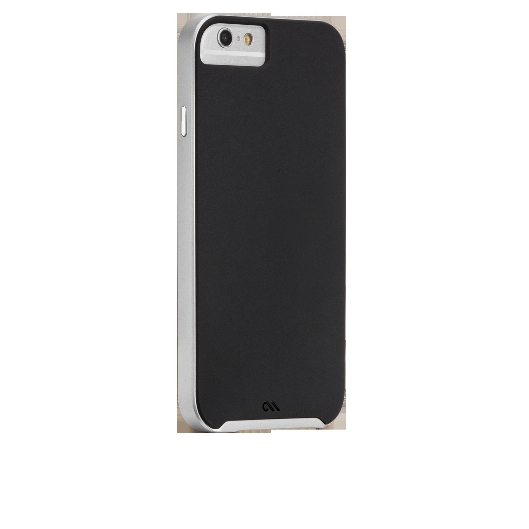 Slim Tough Case - Black & Silver