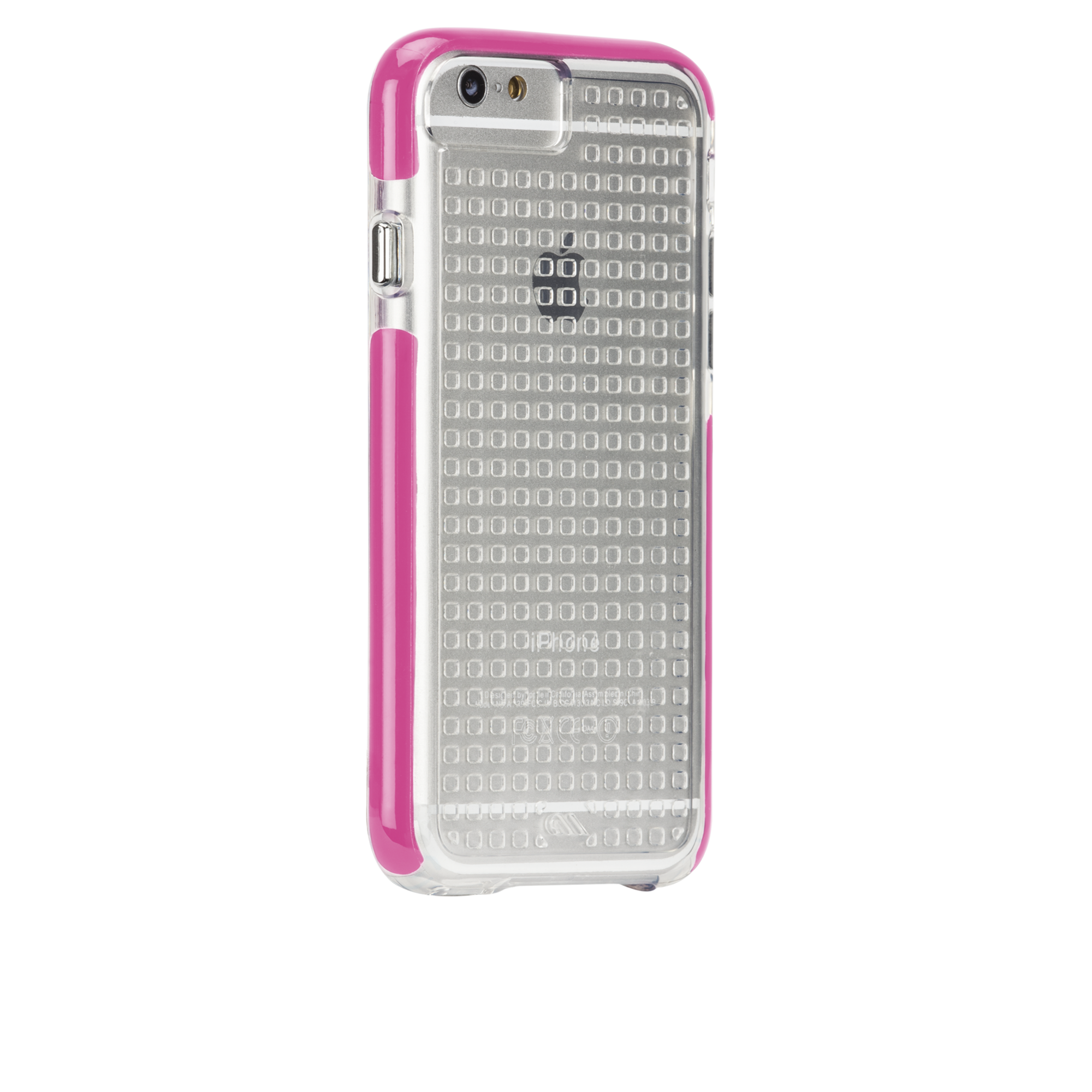 Tough Air Case - Clear & Pink