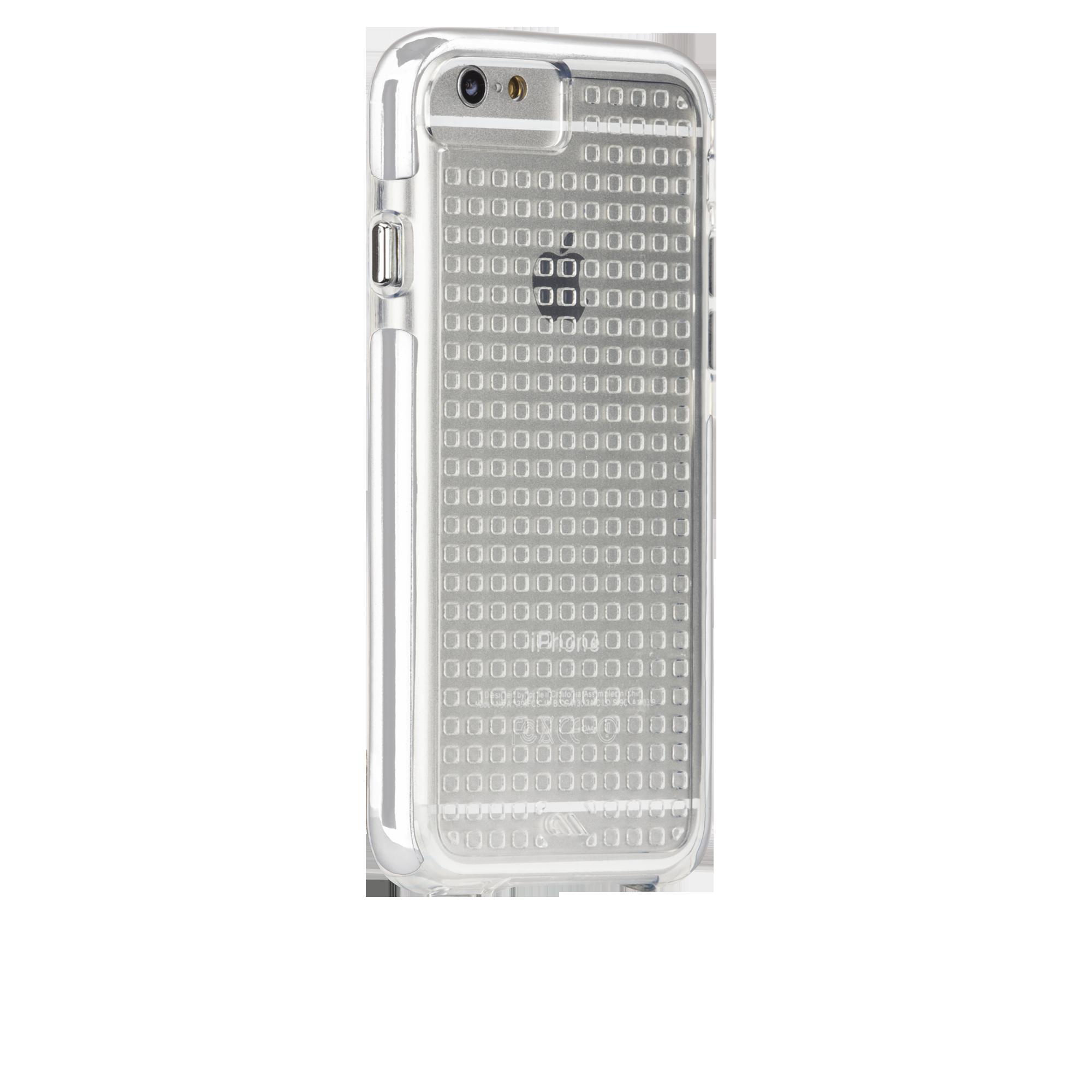 Tough Air Case - Clear & White