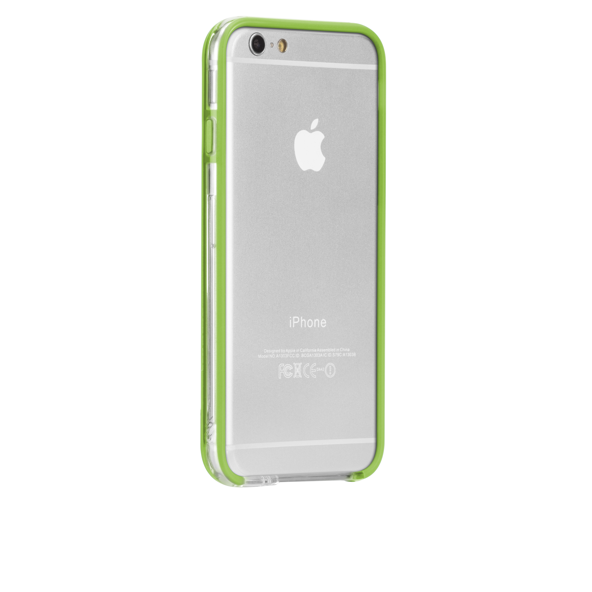Tough Frame Case - Clear & Lime Green
