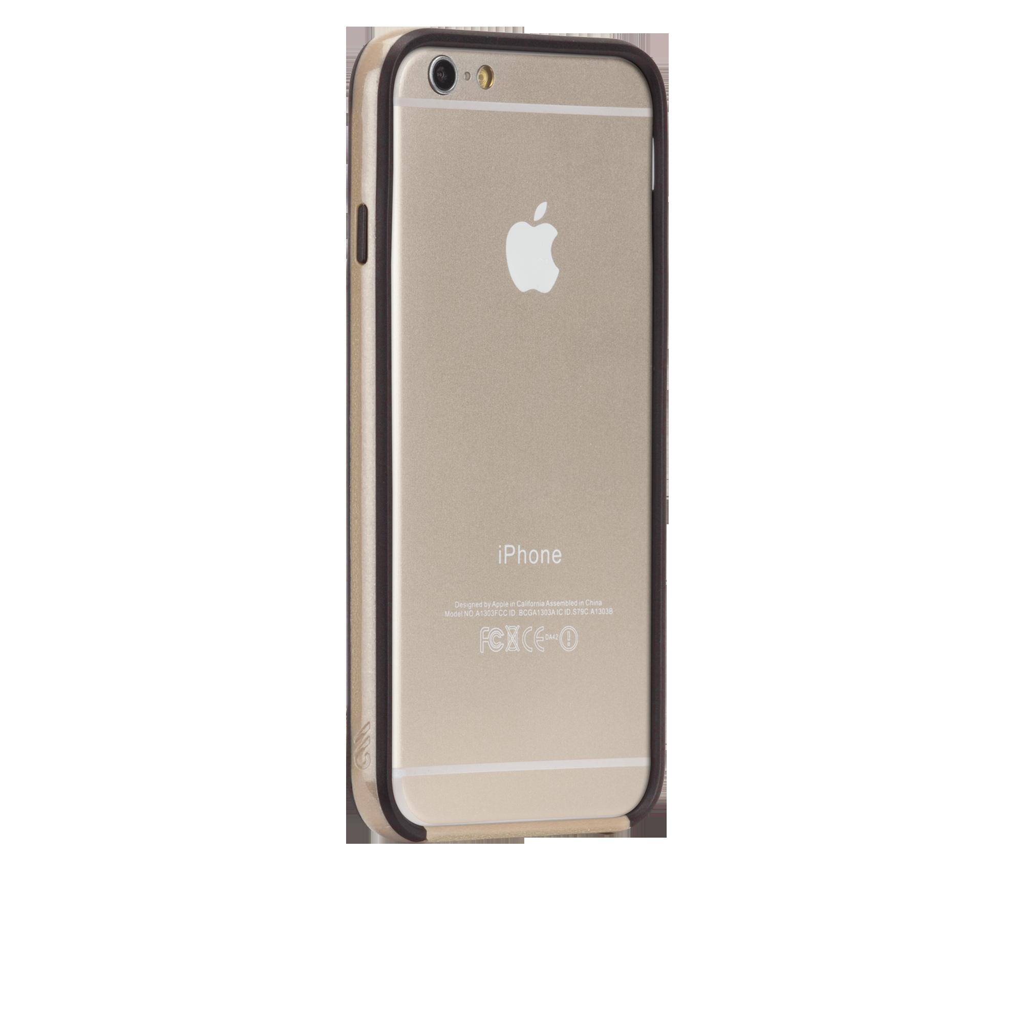 Tough Frame Case - Gold & Black