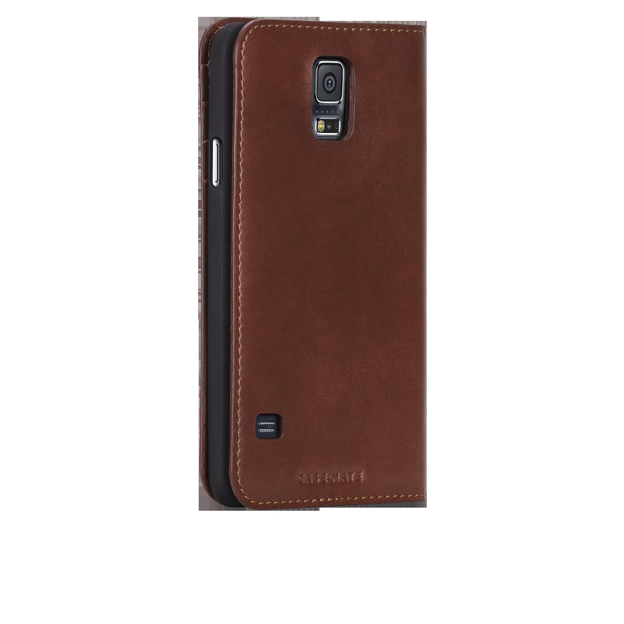 Wallet Folio Case - Dark Brown