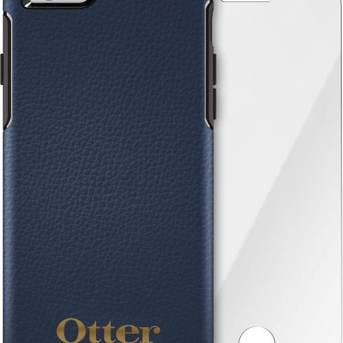 OtterBox iPhone 6s plus case and Glass Screen Protector bundle