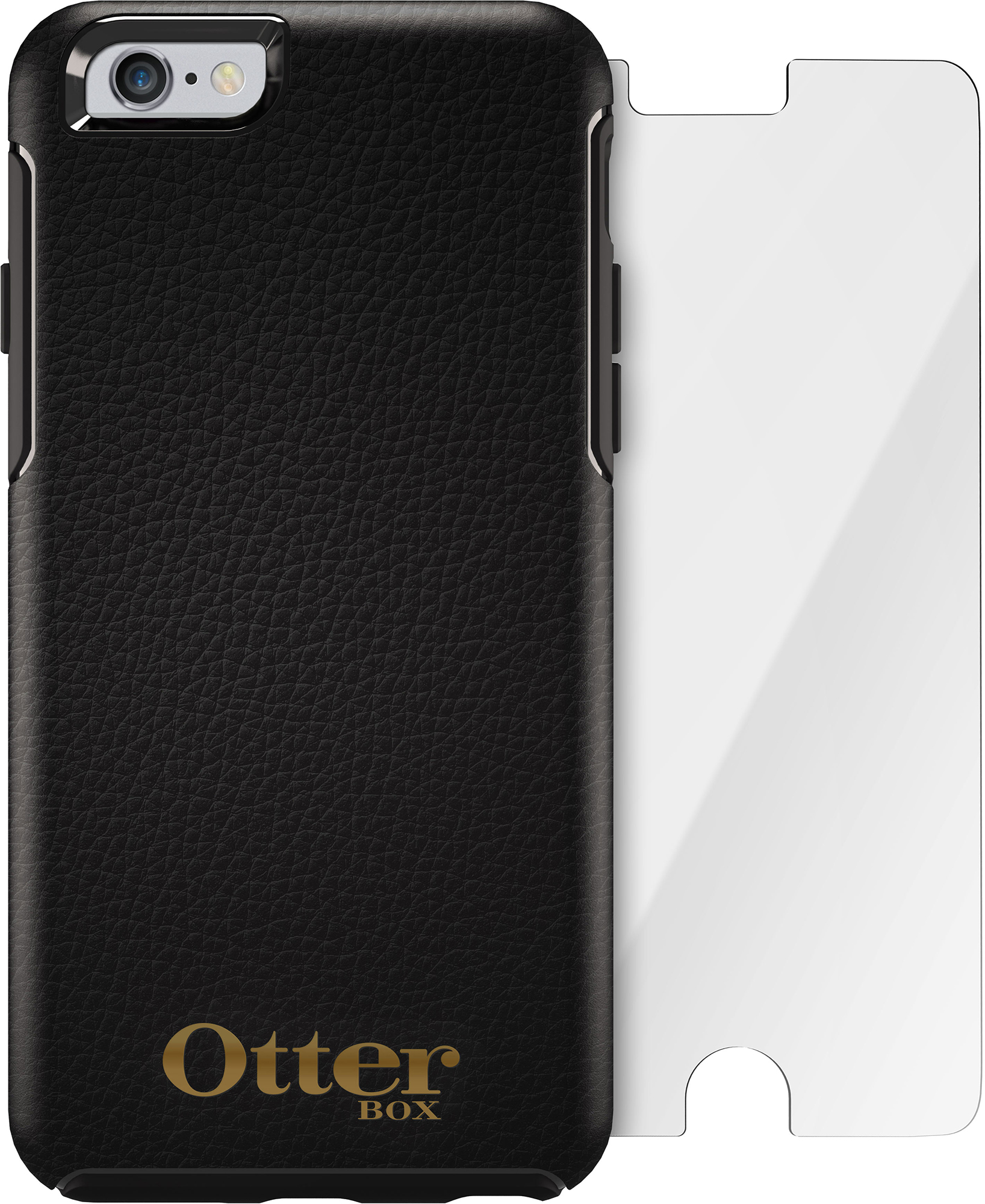 OtterBox iPhone 6s case and Glass Screen Protector bundle