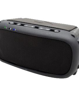 ECOROX Rugged Waterproof Bluetooth Speaker - Black