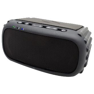 ECOROX Rugged Waterproof Bluetooth Speaker - Black