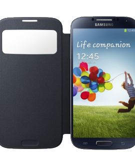 Galaxy S 4 Flip Cover with Viewing Window - Black