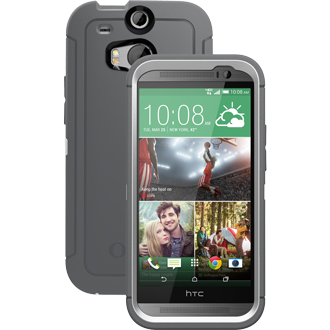 HTC One M8 OtterBox Defender Series Case - Glacier