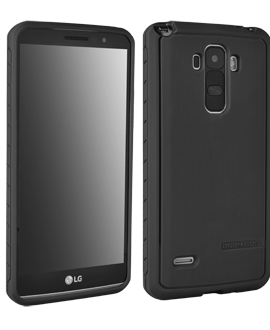 LG G Stylo Body Glove Satin Case - Black